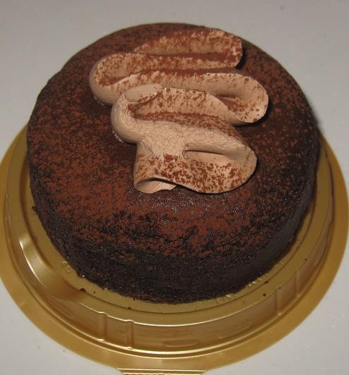 チョコ-しっとり濃厚な味わいチョコスフレ