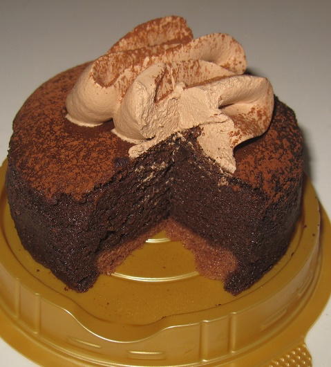 セブンイレブン-しっとり濃厚な味わいチョコスフレ