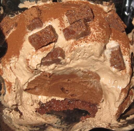 ケーキ-チョコボンブケーキ
