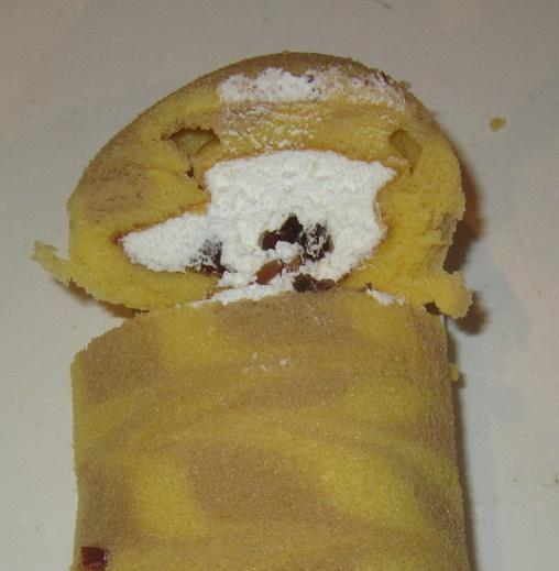 チョコ-節分なが~いリラックマロール(ナッツ&チョコ)