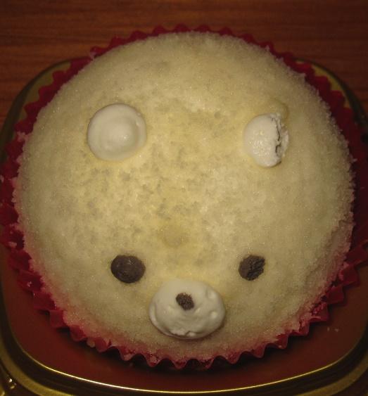 くまさんケーキ(チーズ&ベリー)2