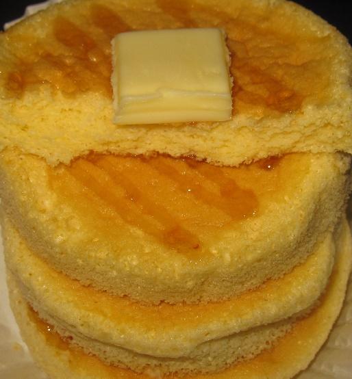 ふわふわ食感ホットケーキ5