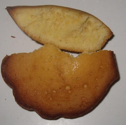 発酵バターを使ったこだわりのマドレーヌ4