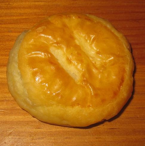 程よい酸味のりんご餡パイ3