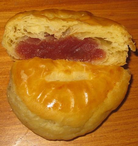 程よい酸味のりんご餡パイ4