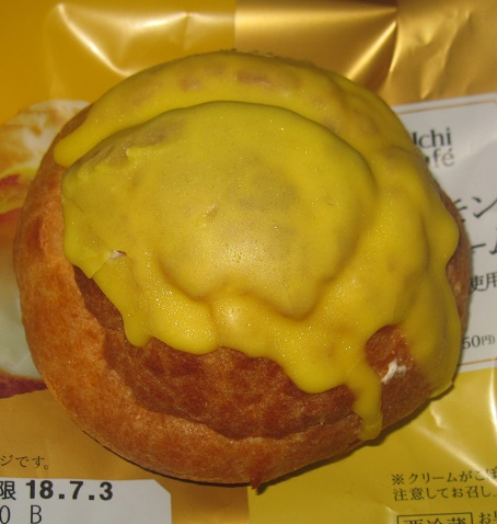チーズ&レモンのシュークリーム2