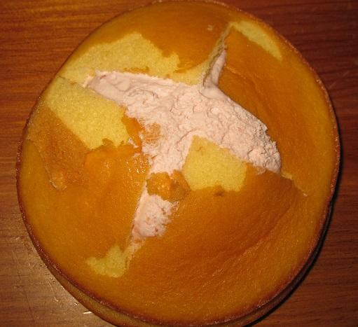ダブルクリームサンド(いちご&練乳ミルク)3