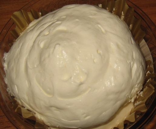 もこもこチーズケーキ(ベリーソース入り)3
