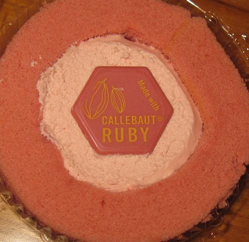 プレミアムルビーチョコレートのロールケーキ4