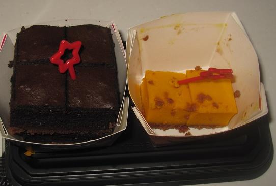 生チョコクリームショコラ&パンプキンチーズケーキ4