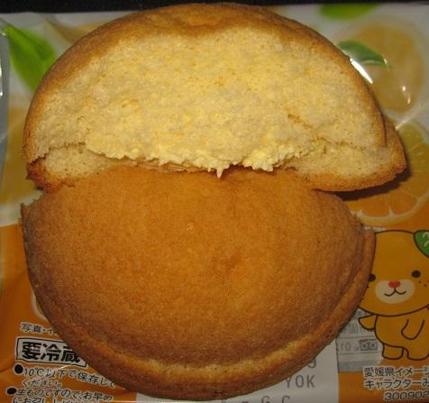 シフォンケーキ(愛媛県産伊予柑のクリーム)3