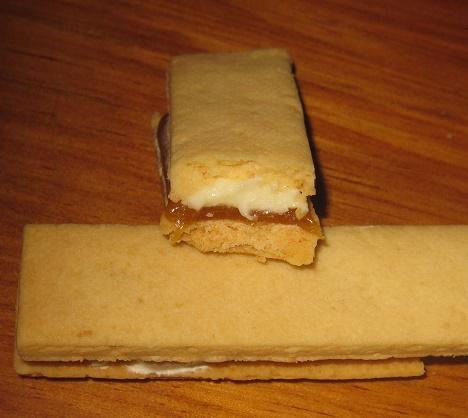 スティックケーキ本格キャラメルのバターサンド4