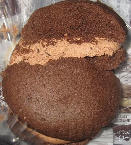 クリームを味わう生チョコクリームのスフレ5