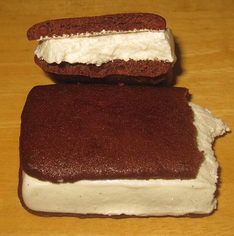 チョコが濃厚なブラウニーサンド4