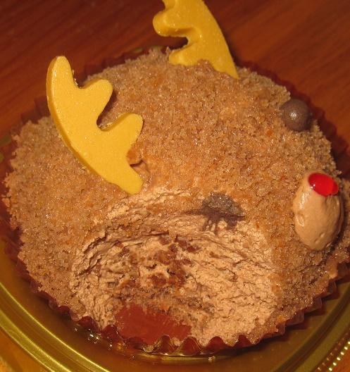 トナカイケーキチョコクリーム&クッキー4