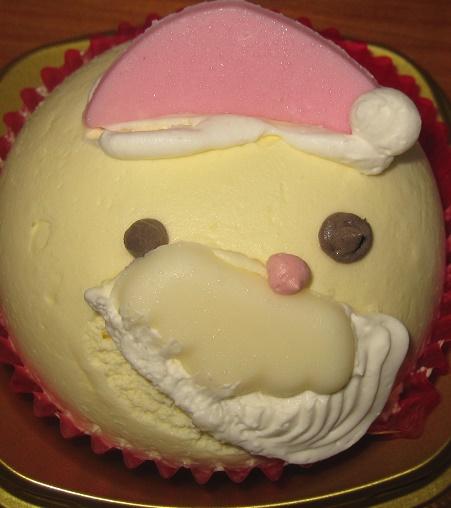 サンタさんケーキバニラ&いちごクリーム3