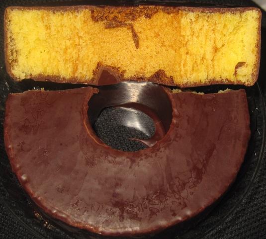 チョコ掛けバウムクーヘン4