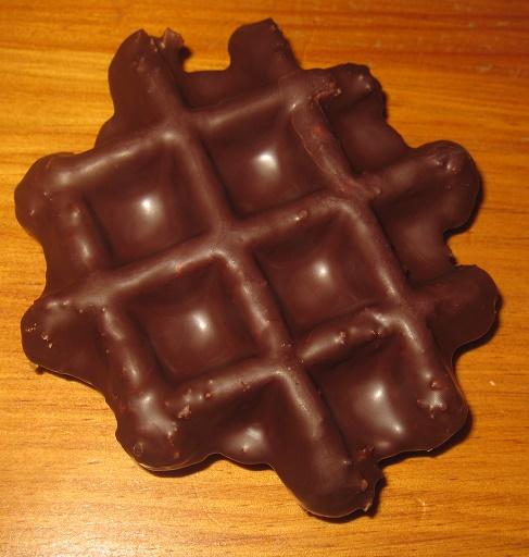 チョコレートワッフル3