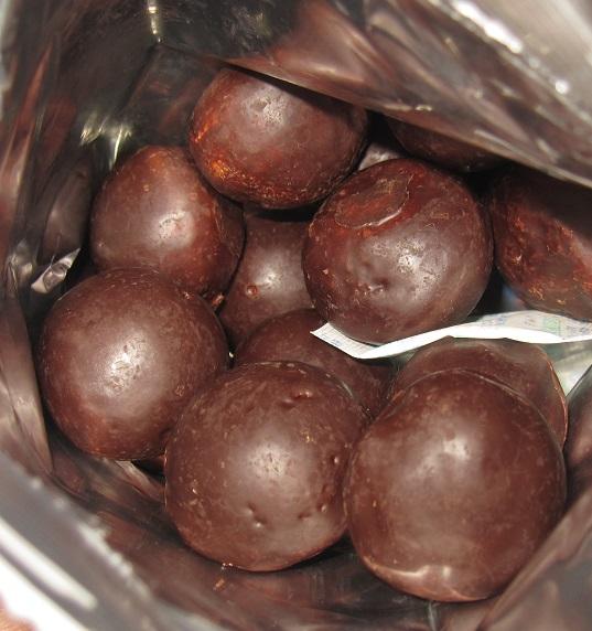 チョコチップ入りのチョコ鈴カステラ3