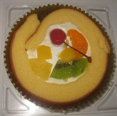 夏の節分至福のロールケーキ