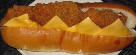チーズチキンカツロール