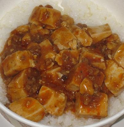 四川風麻婆丼