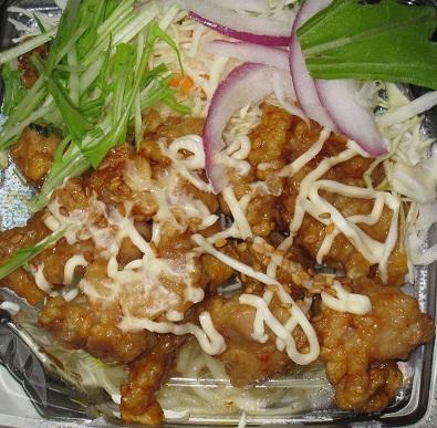 甘辛鶏マヨのパスタサラダ