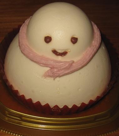 雪の子ムースケーキ
