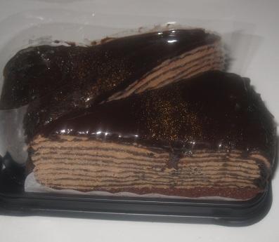 生チョコミルクレープ