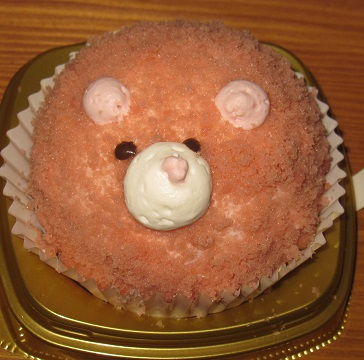 いちごのくまさんムースケーキ