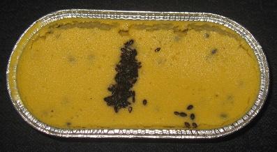 安納芋と黒ごまのベイクドケーキ