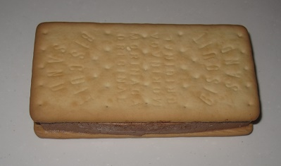 アイスクリームサンド(ベルギーチョコ&バニラ)