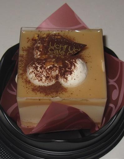 ブロンドチョコレートのスペシャルケーキ