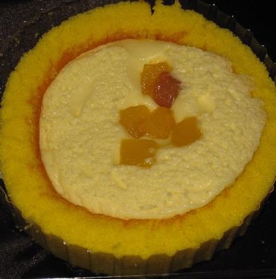 なると金時のロールケーキ