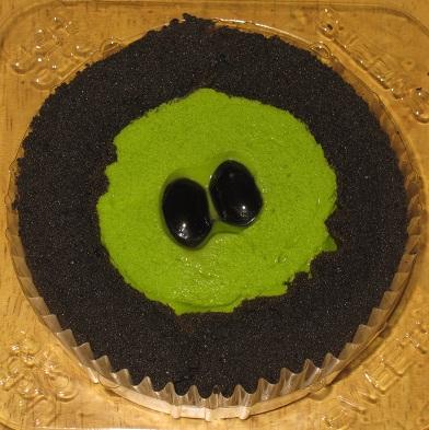 スプーンで食べるプレミアム宇治抹茶と黒胡麻のロールケーキ