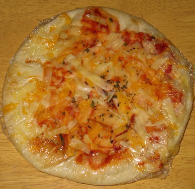 3種のチーズピッツァ