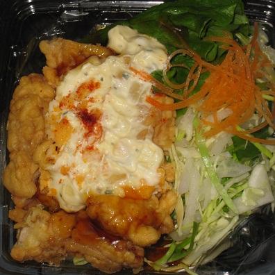 チキン南蛮のパスタサラダ