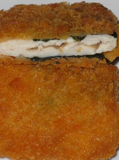 鶏肉の梅しそフライ
