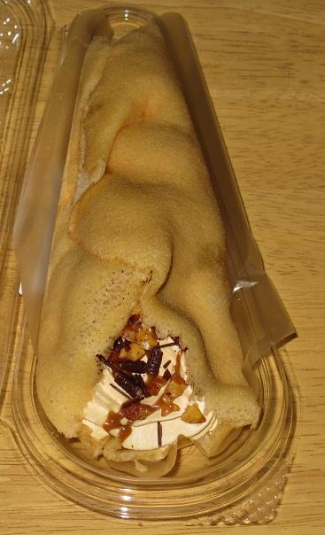 手包みパンケーキ(キャラメル)