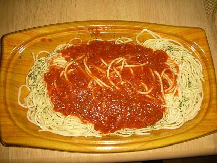 超・大盛ミートスパゲティ