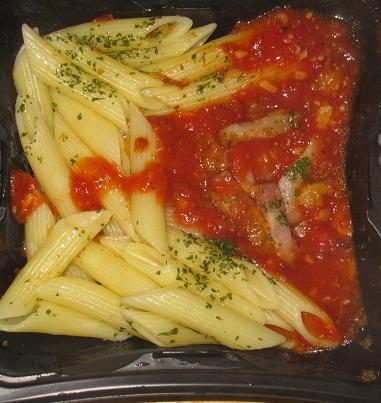 イタリア産トマトのペンネアラビアータ