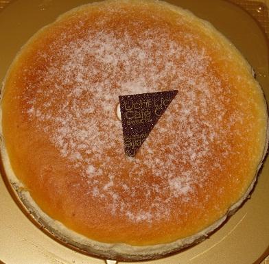 濃厚スフレチーズケーキ
