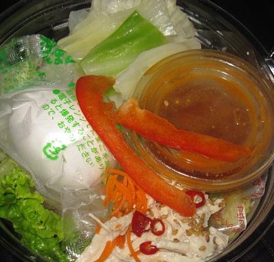 広島つけ麺風だれのラーメンサラダ