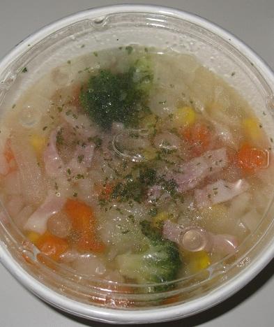1/2日分の野菜スープ