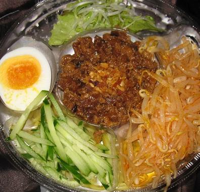 冷し肉味噌坦々麺