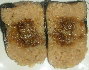 広島県産なかやま牛の牛飯