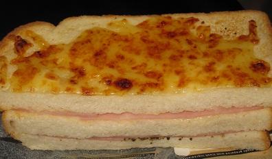 チーズ香るクロックムッシュ