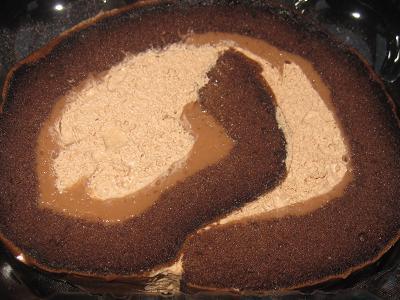 チョコロールケーキ(ベルギー産チョコ使用)