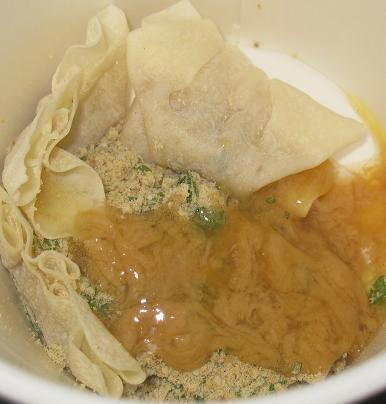 ワンタンの底力 濃厚鶏白湯ワンタンスープ