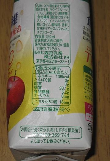 スッキリキレイ!食物繊維5000FIBER TBCアップル+キウイ